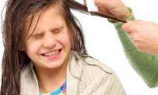 9 Aylık Kızım Saç Yiyor